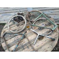 Запчасти для велосипеда ветерок 70-80 г.Цена за все.