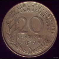 20 сантимов 1970 год Франция