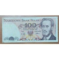 100 злотых 1988 года - Польша