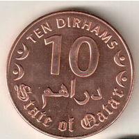 Катар 10 дирхам 2016