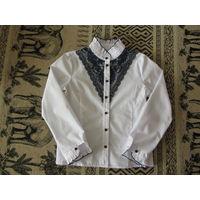 Школьная блузка для девочки, рост 140
