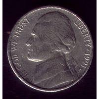 5 центов 1991 год D США