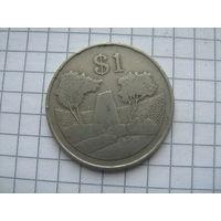 Зимбабве 1 доллар 1980 г.