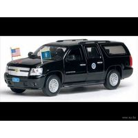 Chevrolet Suburban .Автомобиль сопровождения Президента США.1:43. LUXURY.