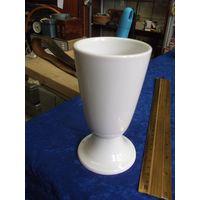 Рюмка, фужер, чаша, фарфор, 13 см.