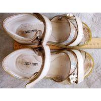 Туфли босоножки детские натуральная кожа мягкие 29