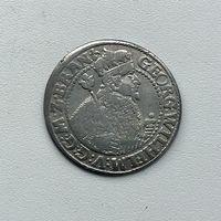Монета Орт 1/4 талера 1622 г. (Пруссия) Георг Вильгельм РЕДКИЙ отличный