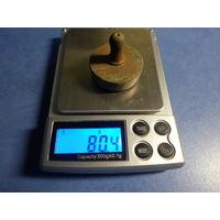 Гирька весовая 80,4 гр. торг обмен