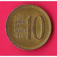 43-16 Южная Корея, 10 вон 1972 г.