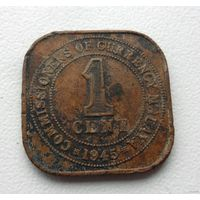 1 цент 1945 года Малайя