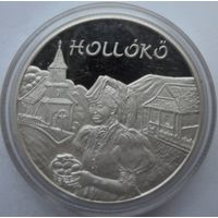 Венгрия 5000 форинтов 2003 года. Серебро. Пруф. Идеальное состояние! Редкая!