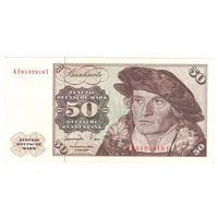 Германия ФРГ 50 марок 1977 года. Состояние XF+/aUNC! Редкая! Большой номинал!