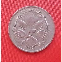 63-07 Австралия, 5 центов 1977 г.