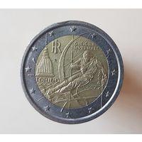 2 евро, 2006 Италия Олимпиада Турин
