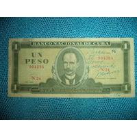 1 ПЕСО 1969 Куба