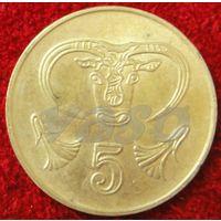 7533:  5 центов 1994 Кипр