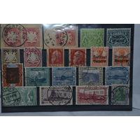 Большой лот марок ранней Германии. Чистые и гашенные. См. описание лота.