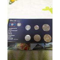 БЕЛИЗ / НАБОР из шести монет/