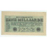Германия, 1 миллиард марок 1923 год.