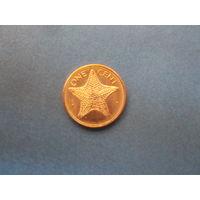 1 цент 1998 багамы