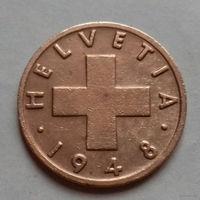 1 раппен, Швейцария 1948 г.