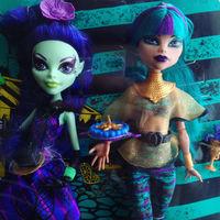 Набор кукол Monster High Аманита и Нефера Nefera de Nile & Amanita Крик и Сахар Монстер Хай Школа монстров Монстер Хай