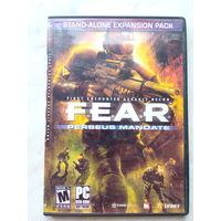 """""""F.E.A.R. Perseus Mandate"""" DVD-r"""