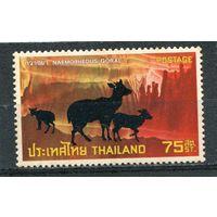 Таиланд. Охраняемые виды животных. Гималайский горал