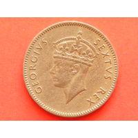 50 центов 1948 года Восточная Африка