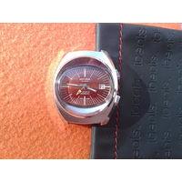 Часы винтажные SICURA с будильником,SWISS MADE,RRR !!!