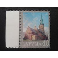 Латвия 2004 кирха