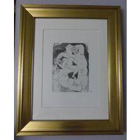 Литография Пабло Пикассо, 1968г., в раме
