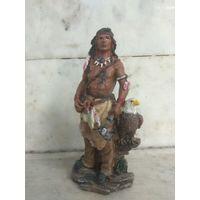 Статуэтка Индеец с орлом