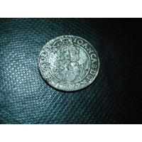 6 грошей 1664 в сохране
