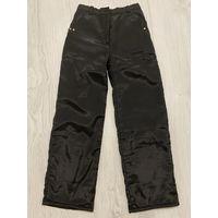Зимние болоневые штаны рост 122-130