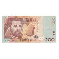 Албания 200 лек 2012 года