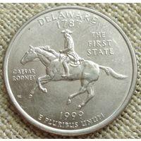 25 центов 1999 США - Делавэр