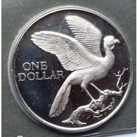 Тринидад и Тобаго 1 доллар. 1976