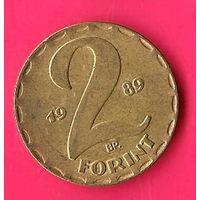 47-43 Венгрия, 2 форинта 1989 г.