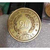 20 марок Финляндия 1934