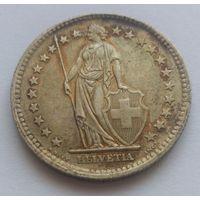 Швейцария, 2 франка 1963 год