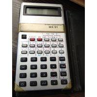 """Микрокалькулятор"""" Электроника МК-51 """"1993 год."""