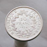 Франция 10 франков 1970 СЕРЕБРО