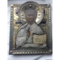 """Икона """"Иисус вседержитель"""", 1822г, 84. Российская империя."""