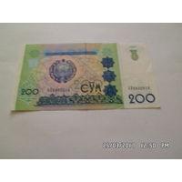 Узбекистан 200 сум 1997г