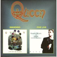 QUEEN - INNUENDO + FIVE LIVE