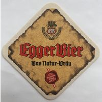 Подставка под пиво Egger bier /Австрия/