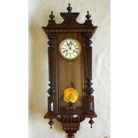 Старинные Настенные Часы Junghans ГЕРМАНИЯ