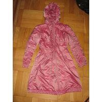 Осеннее пальто для девочки 152-158 см
