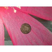 Шеляг Брандербург Пруссия Фридрих Вельгельм нечастая монета 1654 г